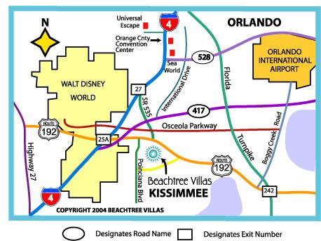 Beachtree Villas Orlando Vacation Homes And Villas